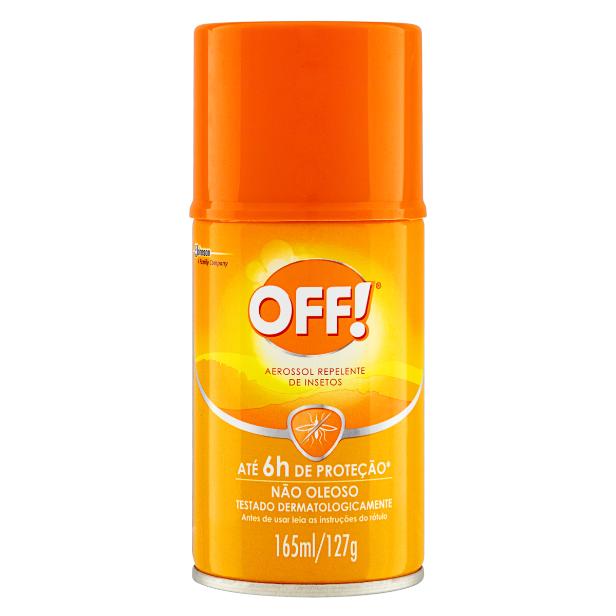 Repelente Aerossol Off! Frasco 165ml