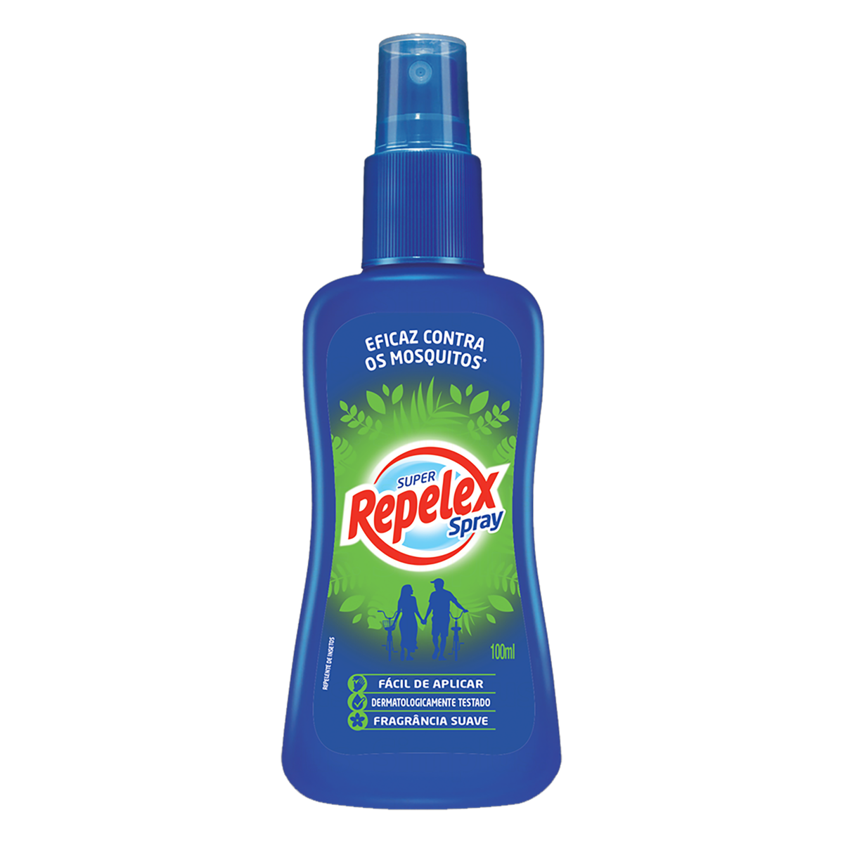 Repelente Spray Suave Repelex Frasco 100ml
